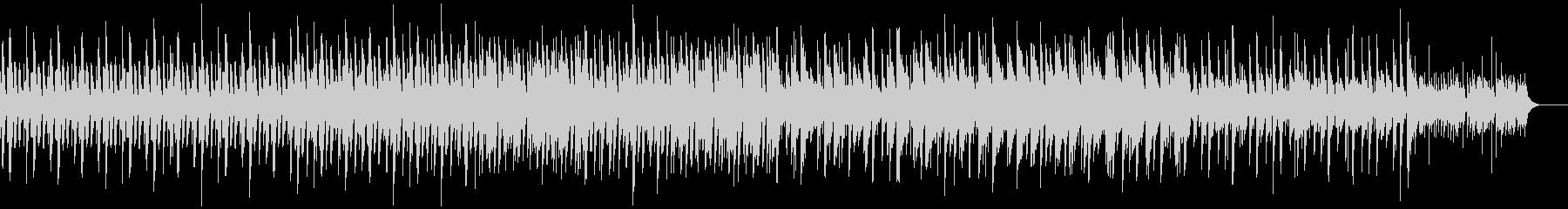 ピアノとマリンバのミニマルミュージックの未再生の波形