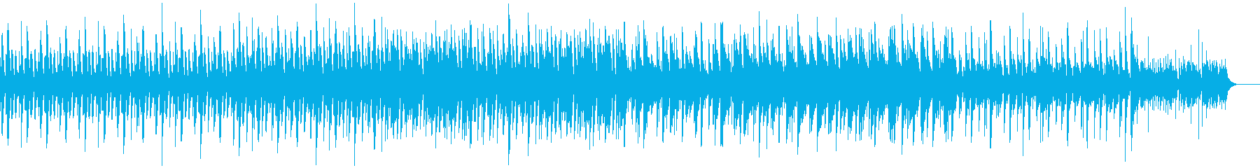ピアノとマリンバのミニマルミュージックの再生済みの波形