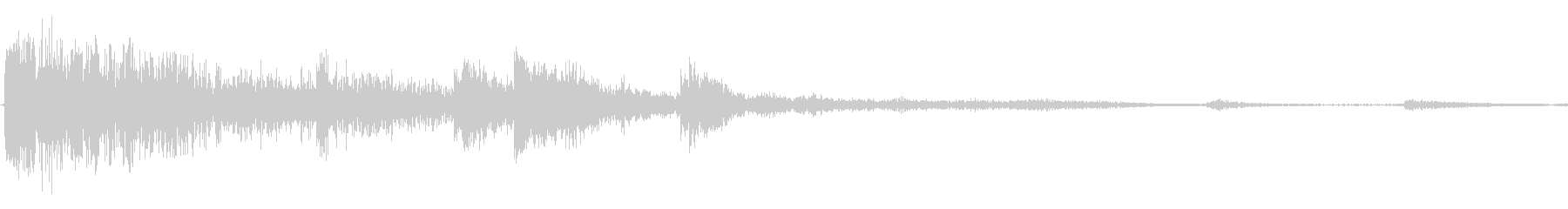 デブリとジープクラッシュの未再生の波形