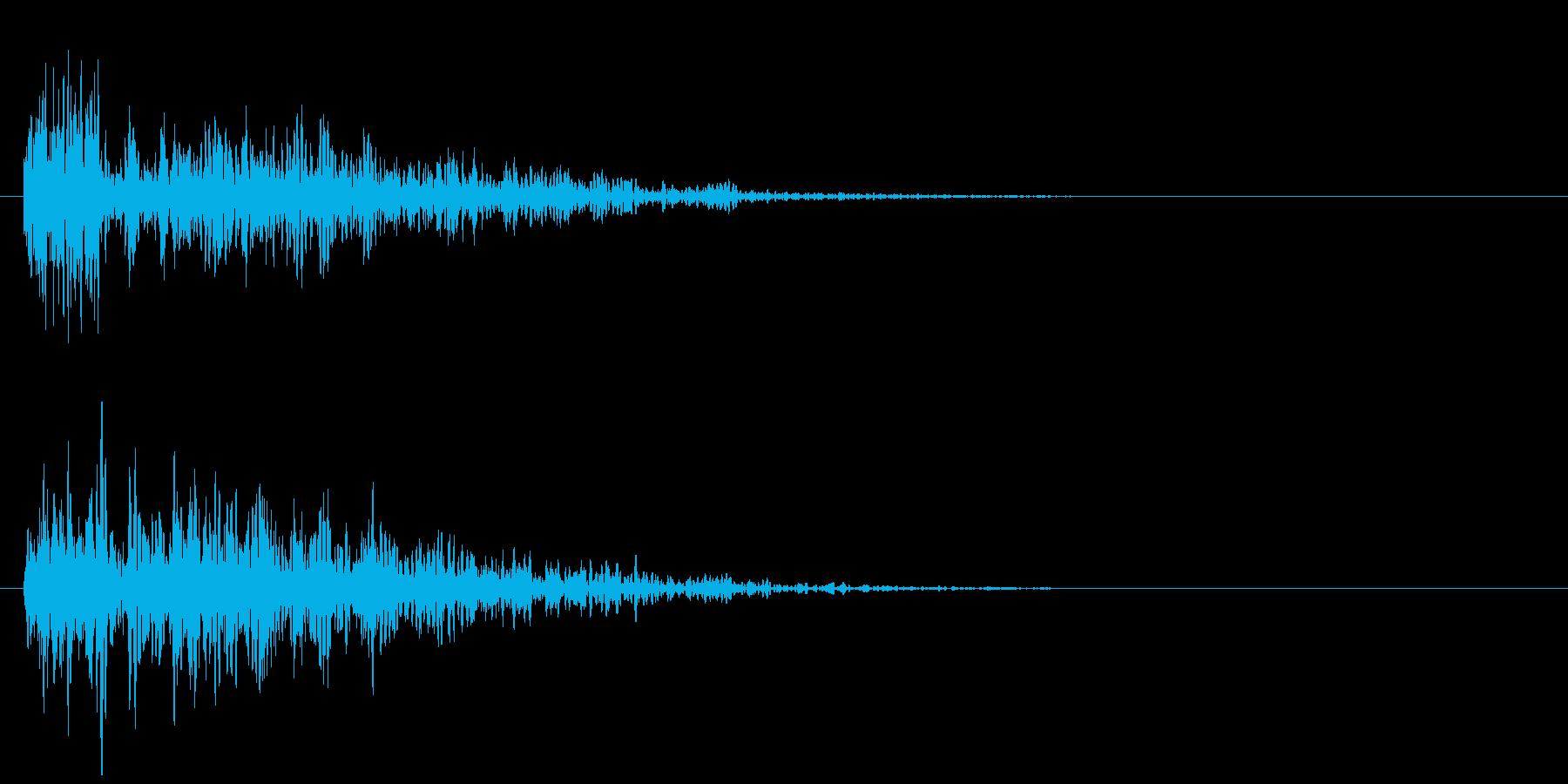 魔法 15の再生済みの波形