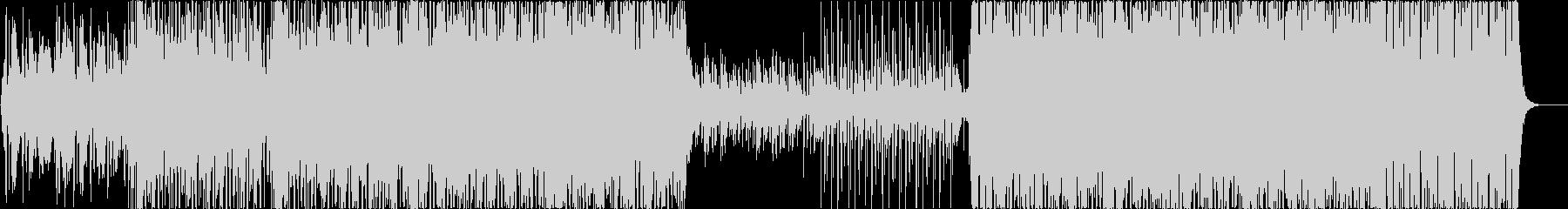 三味線とバイオリンの和風オリエンタルの未再生の波形