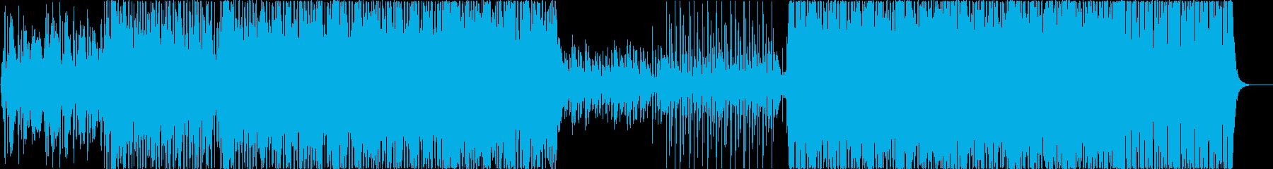 三味線とバイオリンの和風オリエンタルの再生済みの波形