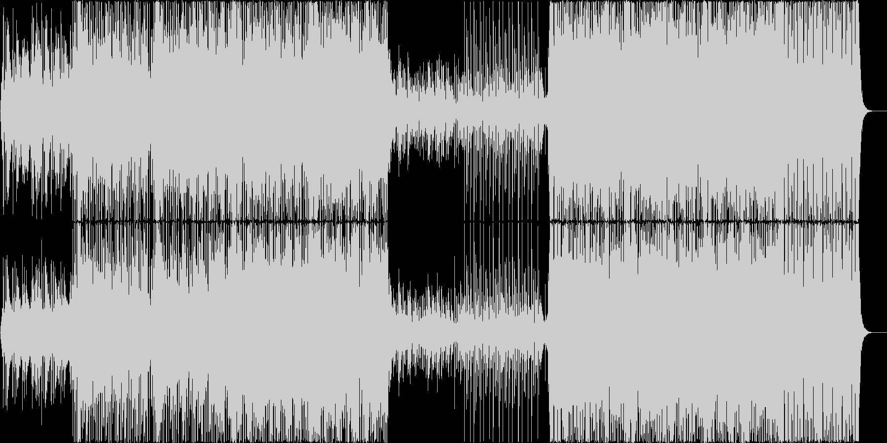 White Violetの未再生の波形