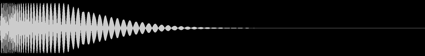 [音楽制作用]アナログキック01の未再生の波形