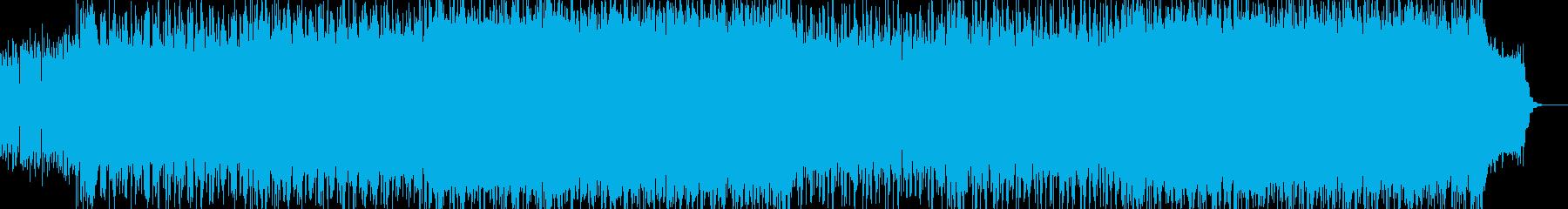 8ビートのエレクトロ、シリアス-03の再生済みの波形