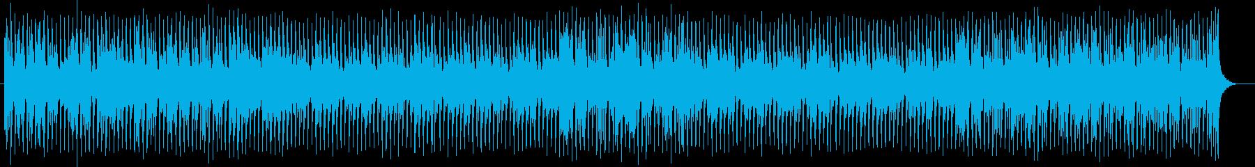 管楽器が特徴的な明るい雰囲気のポップスの再生済みの波形