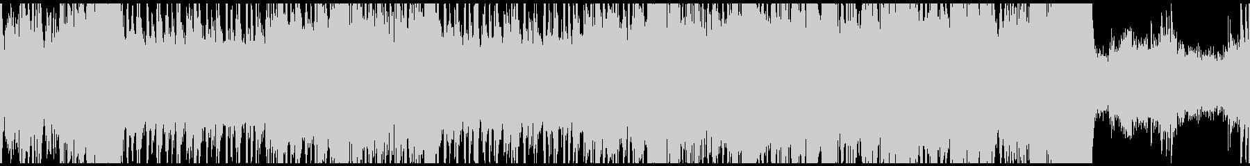壮大な和風オーケストラ・ループの未再生の波形