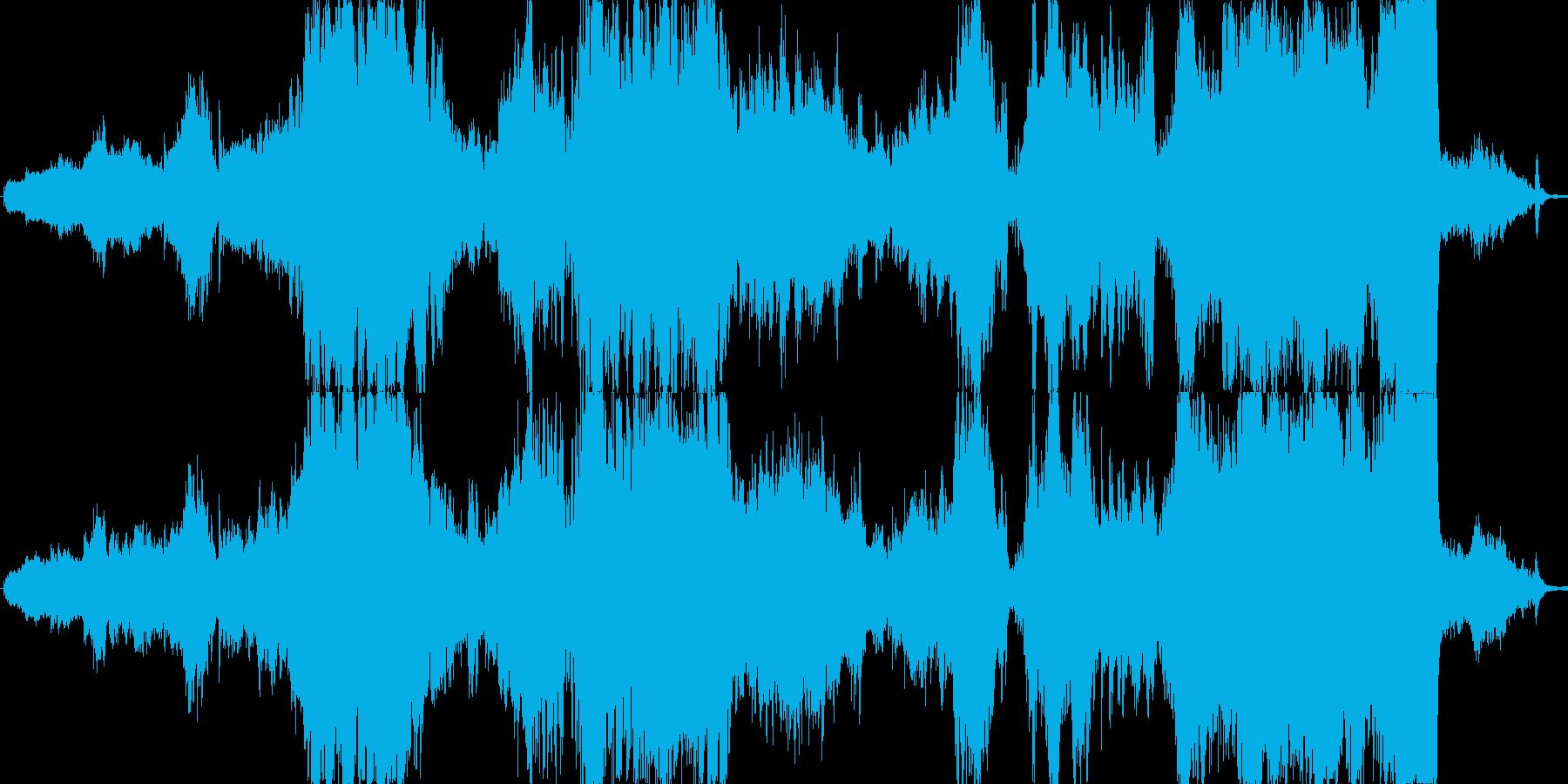 ファンタジーなオーケストラ組曲の再生済みの波形