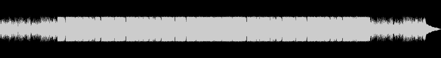 ベースが主旋律の静かなクリスマスBGMの未再生の波形