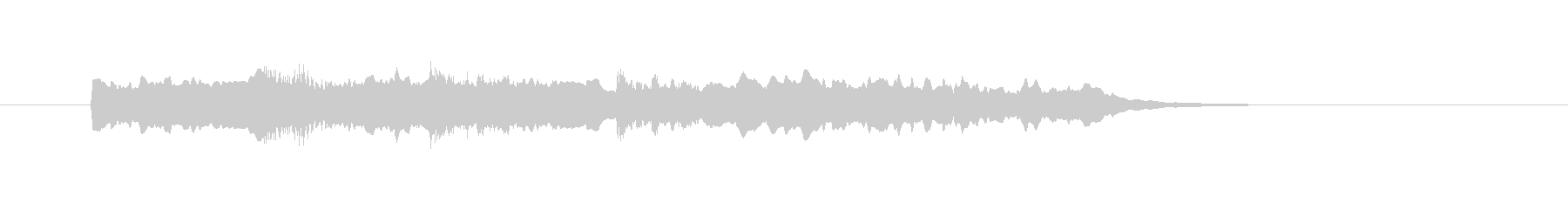 ピンポンパンポーンの未再生の波形