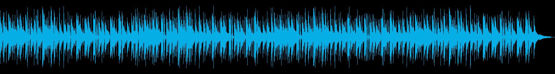 しんみり爽やかピアノジャズ_Aの再生済みの波形