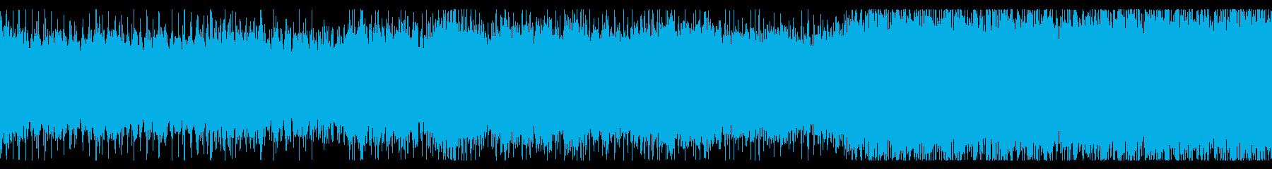 【ループBGM】メタルパイレーツオブ何かの再生済みの波形
