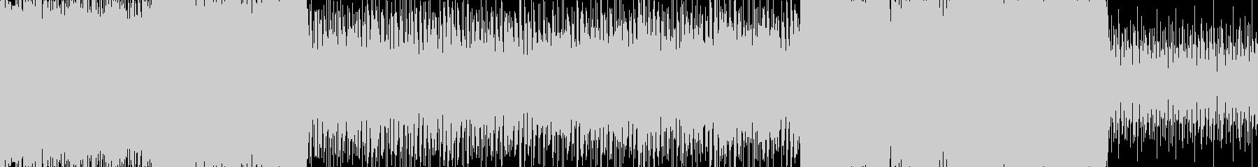 ループ処理版の未再生の波形