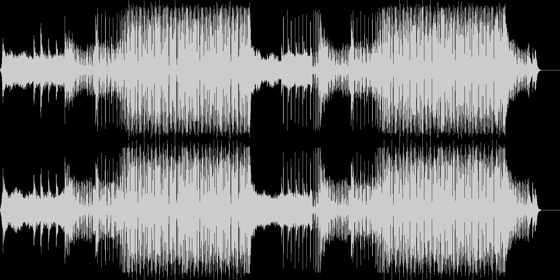 前向きでテンポの良いピアノEDMポップの未再生の波形