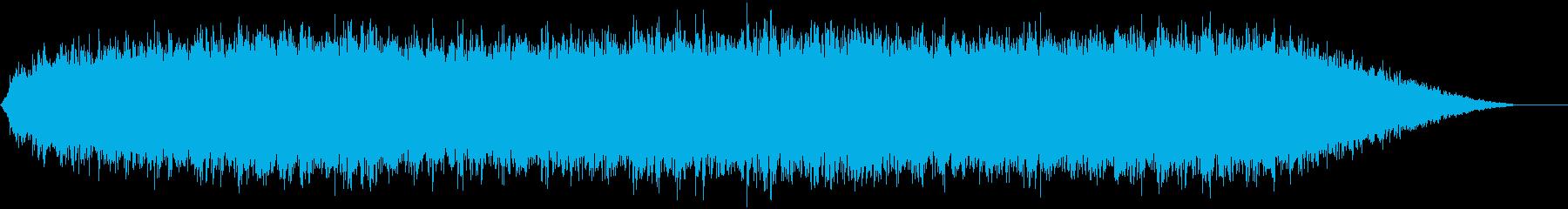 ディープサブ付きステディベルトーン...の再生済みの波形
