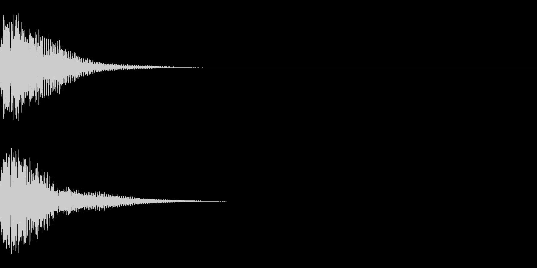 光る キュイーン ピカーン キラン 03の未再生の波形