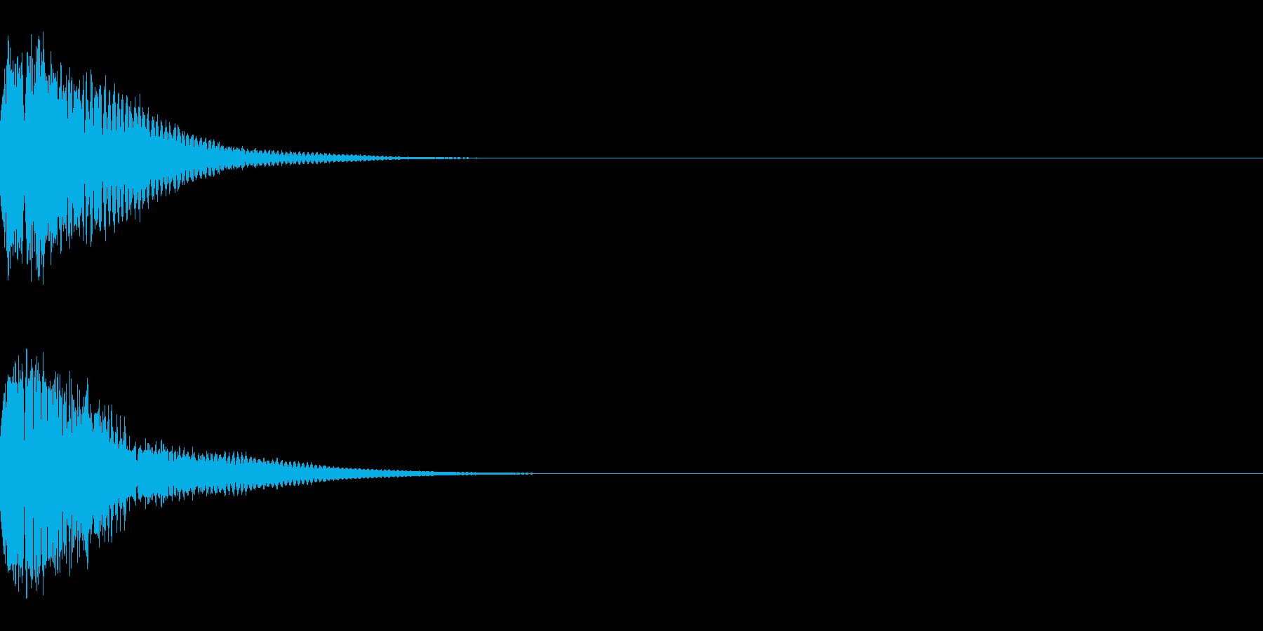 光る キュイーン ピカーン キラン 03の再生済みの波形