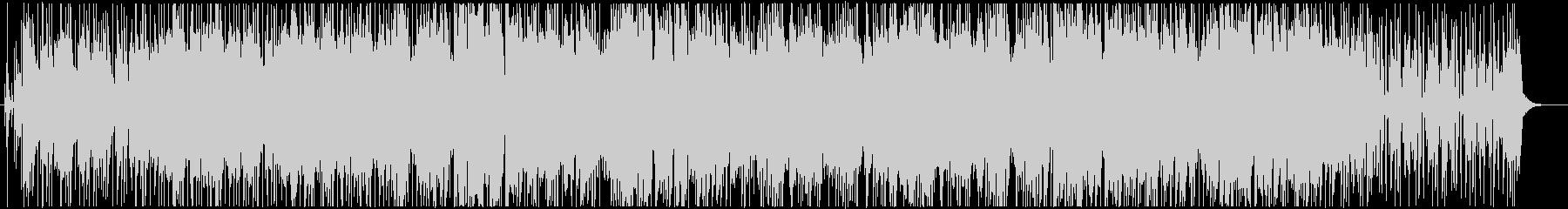 大人な雰囲気のBGMの未再生の波形