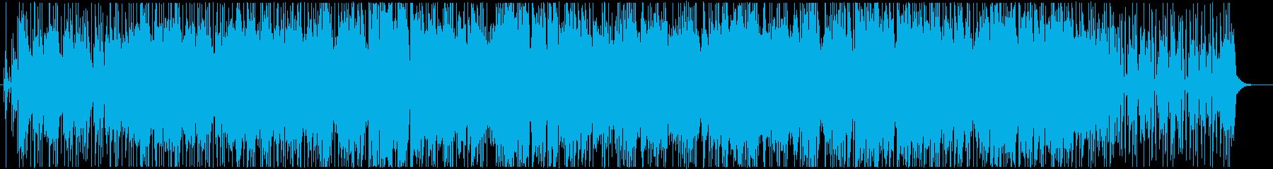 大人な雰囲気のBGMの再生済みの波形