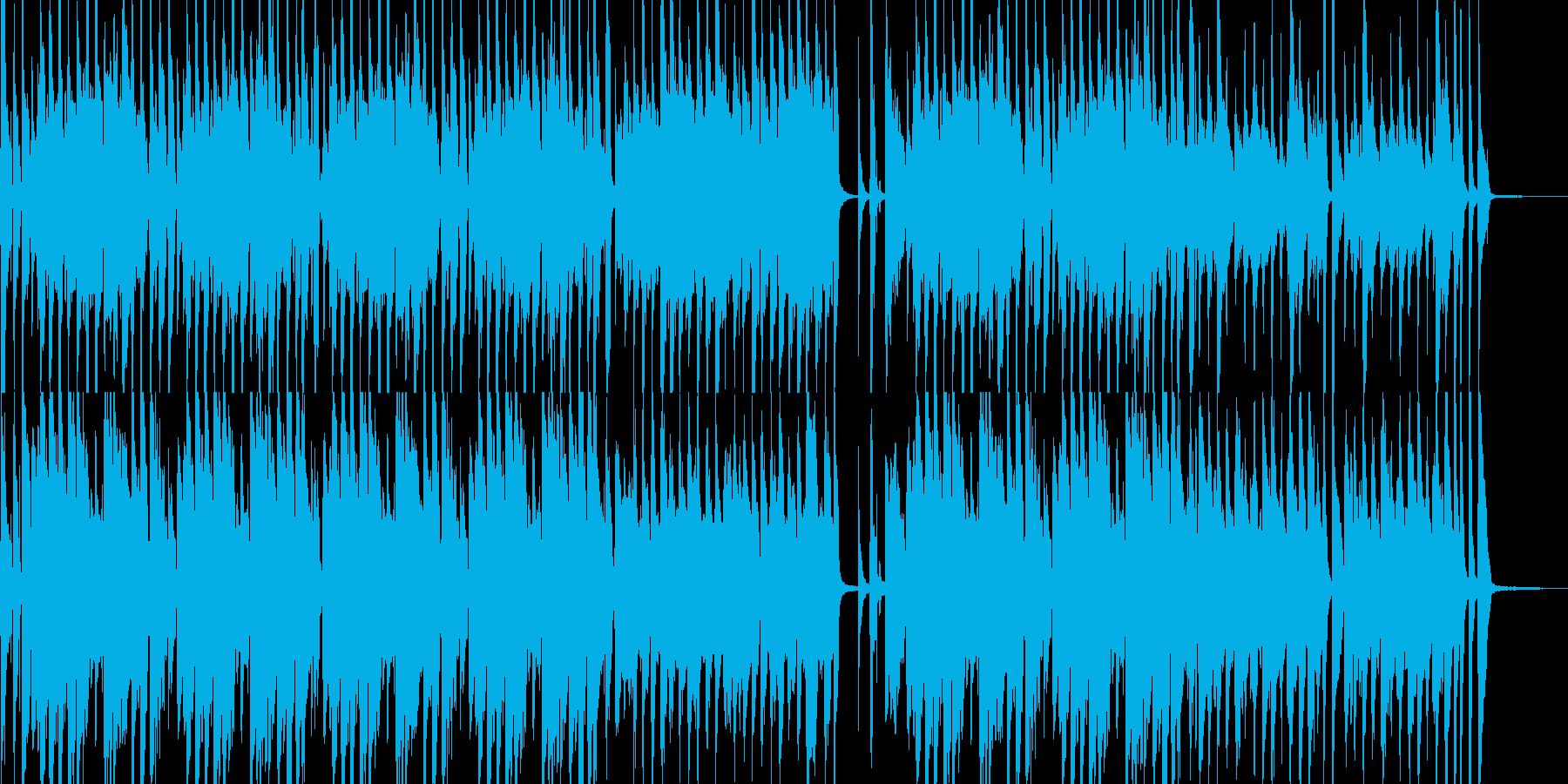 オシャレなジャズBGMミディアムver.の再生済みの波形
