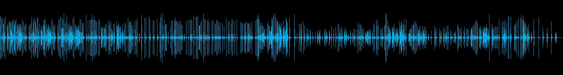 三味線137越後獅子1新潟県月潟角兵衛獅の再生済みの波形