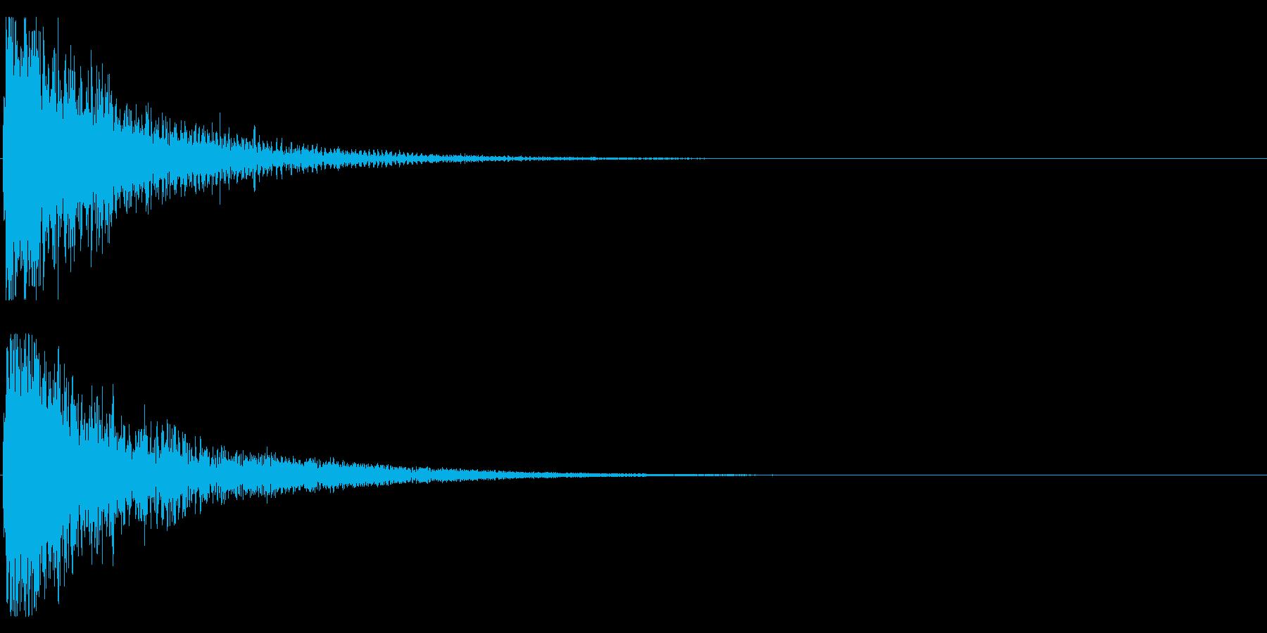 オケヒット HIGHの再生済みの波形