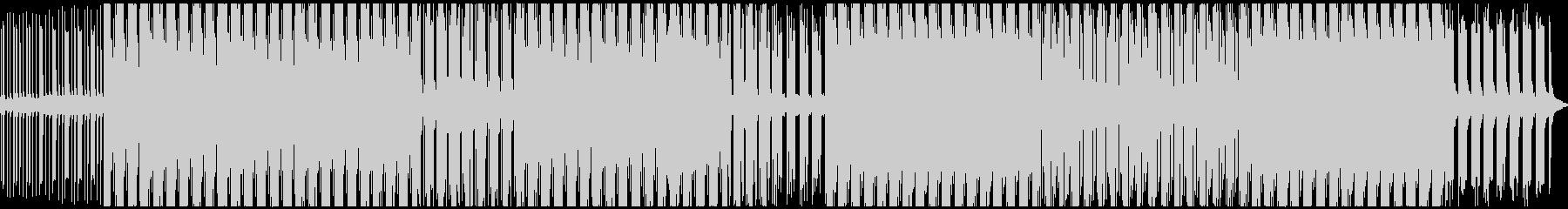 ノイジーなテクノミュージックです。の未再生の波形