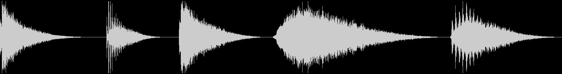 レゾハイ、5バージョン、コード、ヒ...の未再生の波形