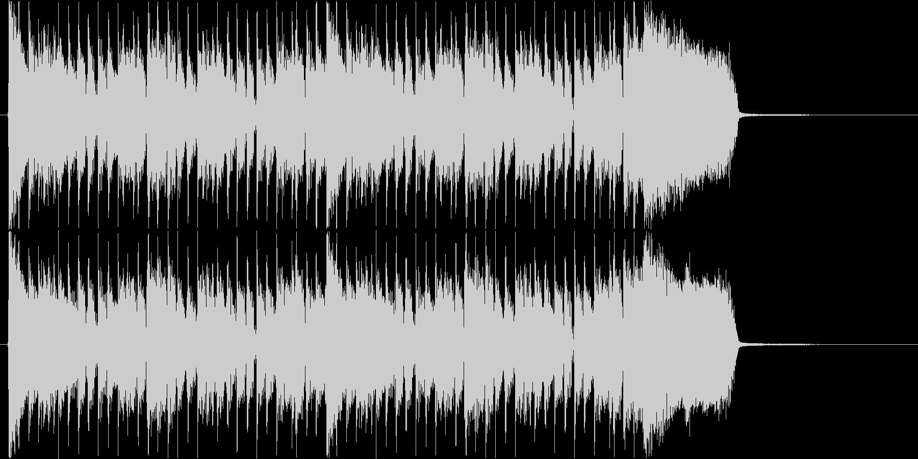 爽快なギターロック/ ショートバージョンの未再生の波形