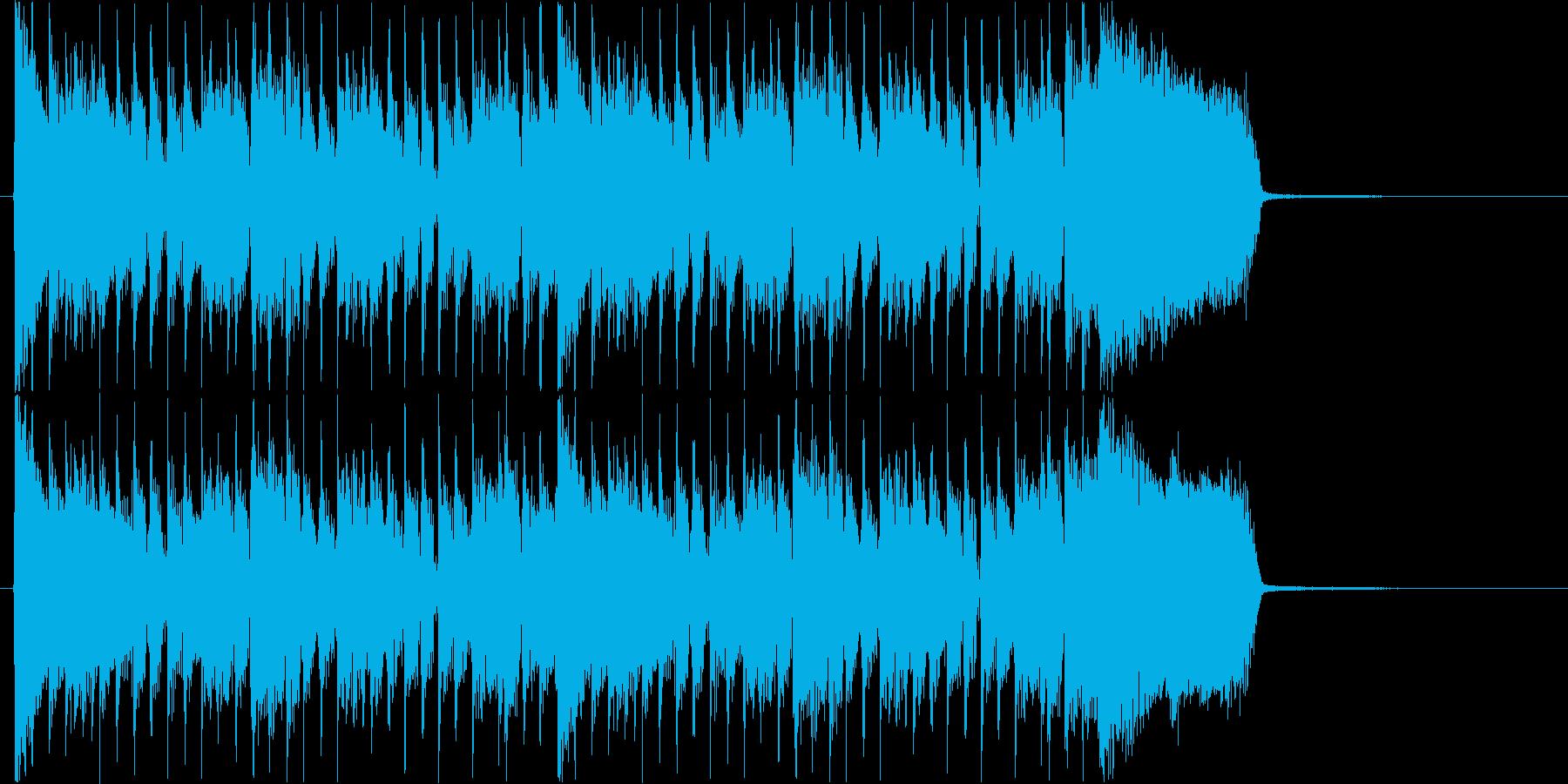 爽快なギターロック/ ショートバージョンの再生済みの波形