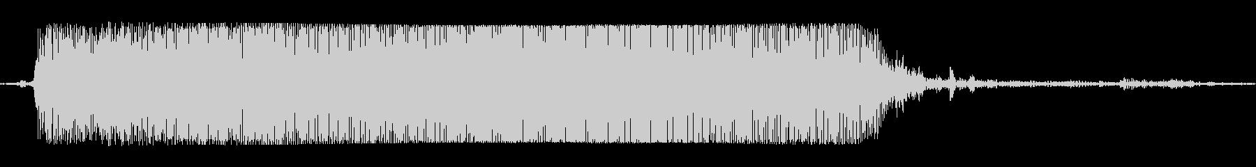 ギターメタルパワーコードzzeの未再生の波形