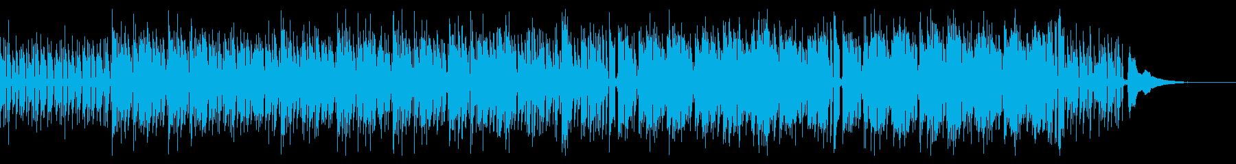 クラシックギターとピアノのボサノバ風Bの再生済みの波形