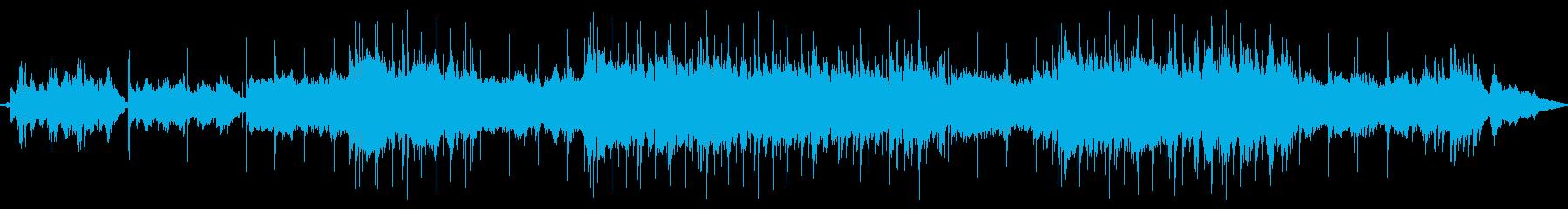 フルオーケストラのバラード。懐かし...の再生済みの波形