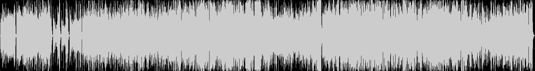 ドライブベース楽曲 疾走感 BGMの未再生の波形