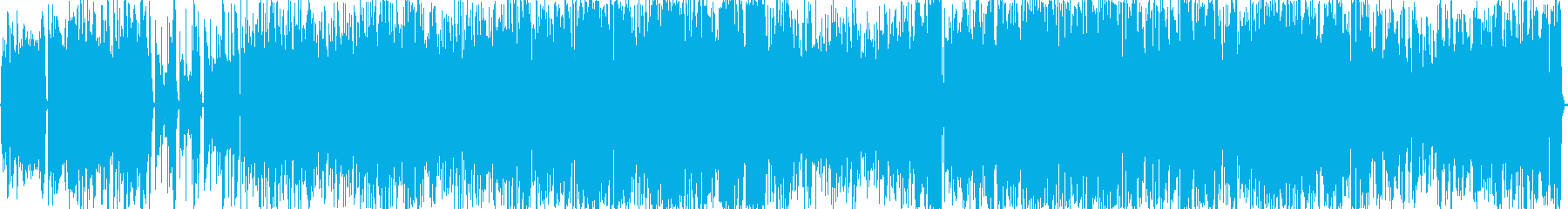 ドライブベース楽曲 疾走感 BGMの再生済みの波形