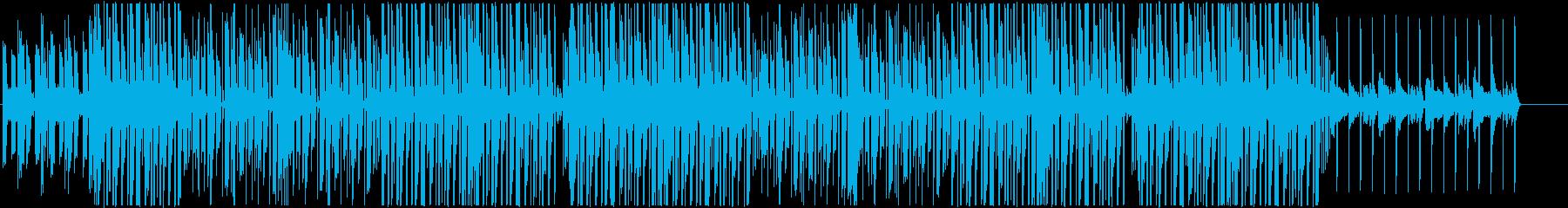 ヒップホップ、ローファイチルアウト♫の再生済みの波形
