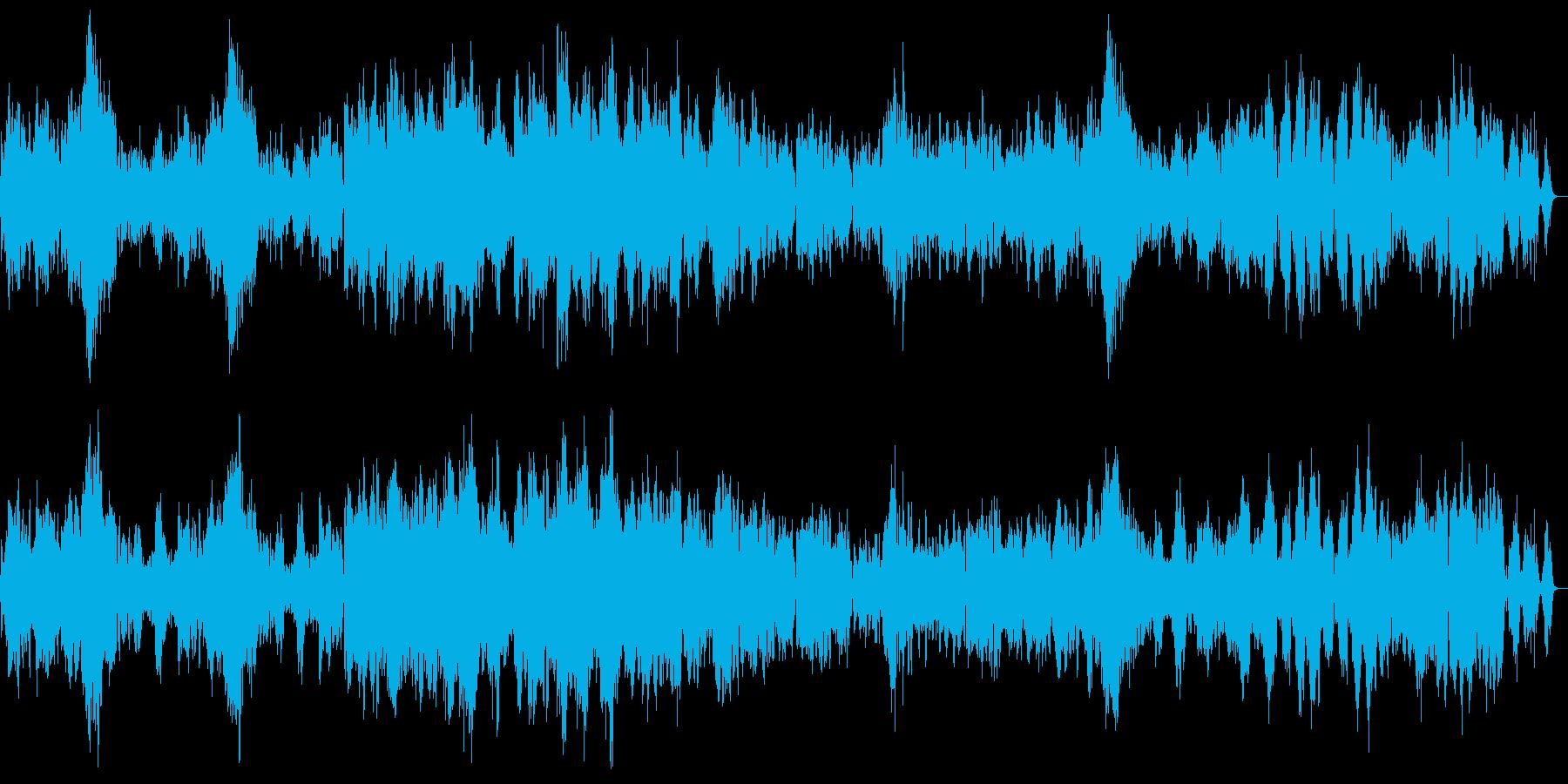「クープランの墓」から 『フォルラーヌ』の再生済みの波形