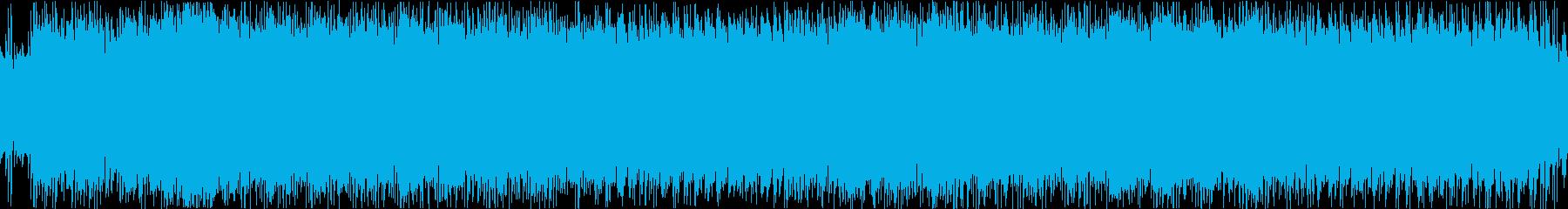 和風/モダン/箏/EDM/ループの再生済みの波形