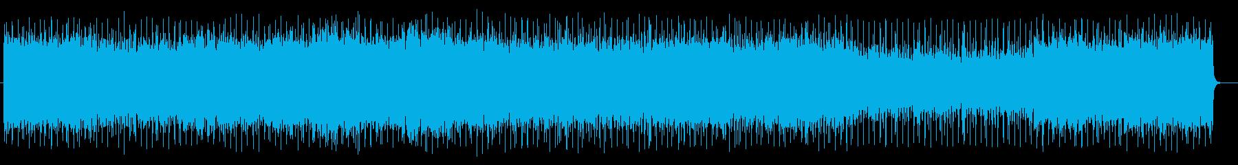 躍動感あるテクニカルなエレキサウンドの再生済みの波形