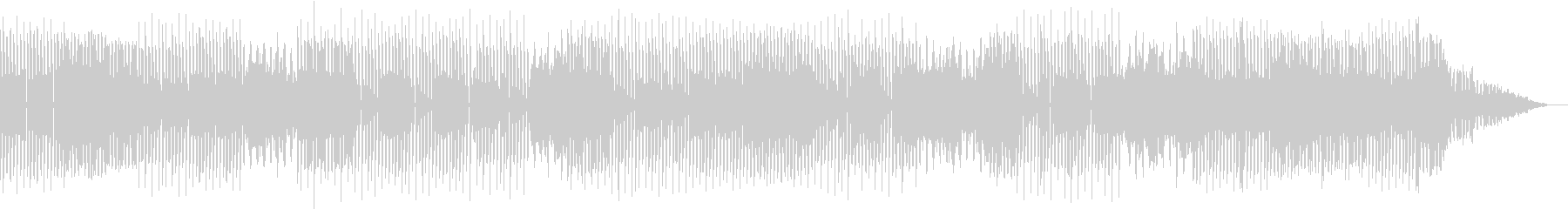おしゃれな映像音楽の未再生の波形