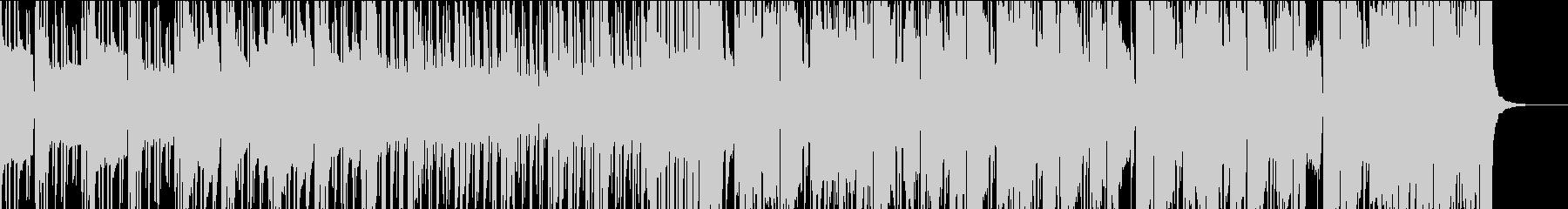 スタイリッシュなFuture Bassの未再生の波形