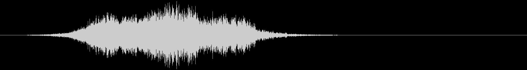 【ホラー】SFX_53 恐怖の音の未再生の波形