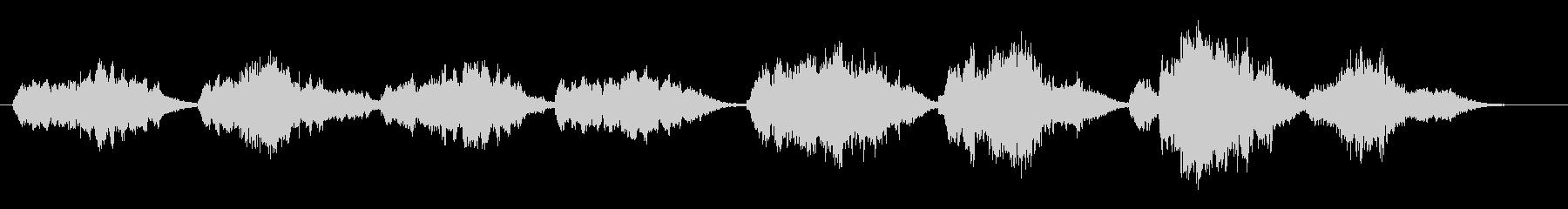 ダニーボーイ(ソプラノ・アカペラ)の未再生の波形