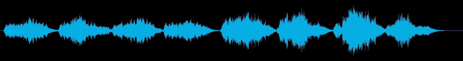 ダニーボーイ(ソプラノ・アカペラ)の再生済みの波形