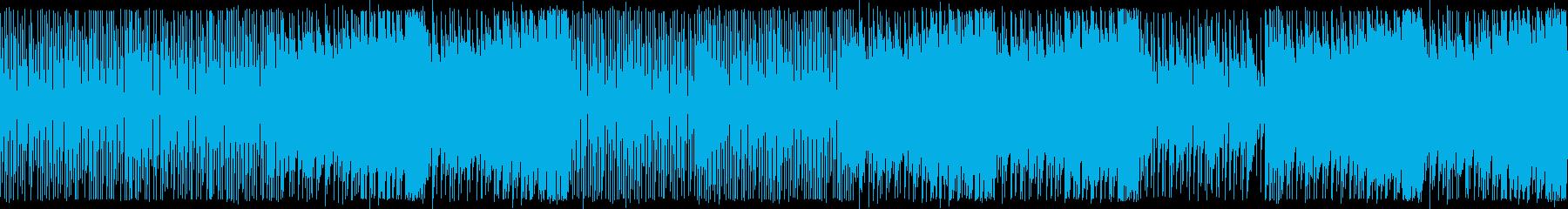 80年代テクノポップ中華風:ループ用の再生済みの波形