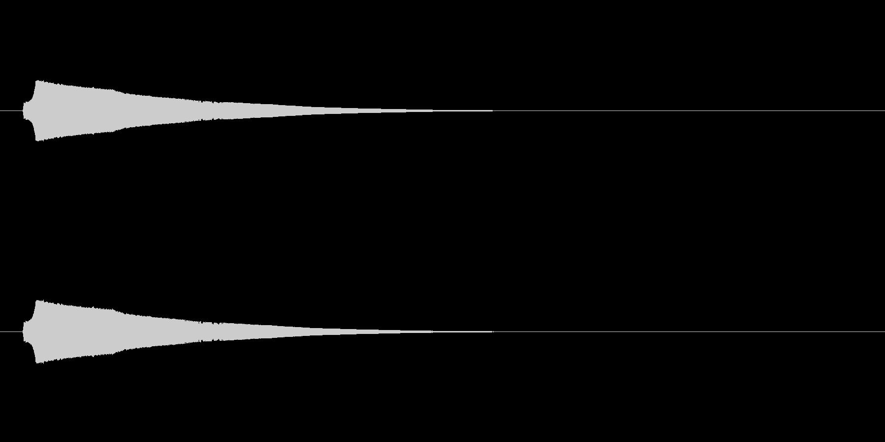 ロングフォールホイッスルアンドクリ...の未再生の波形
