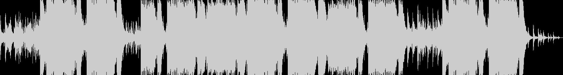 エモいシンセのメロディックトラップの未再生の波形