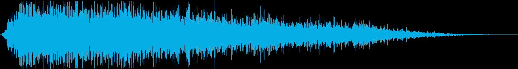 【爆発】 22 戦争 爆撃 激しめの再生済みの波形