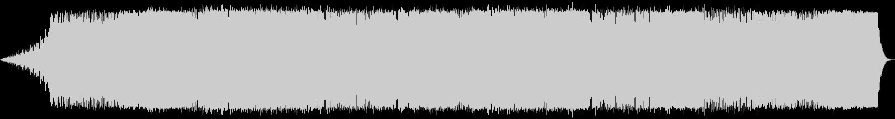 シリアスな場面のアンビエント系BGMの未再生の波形