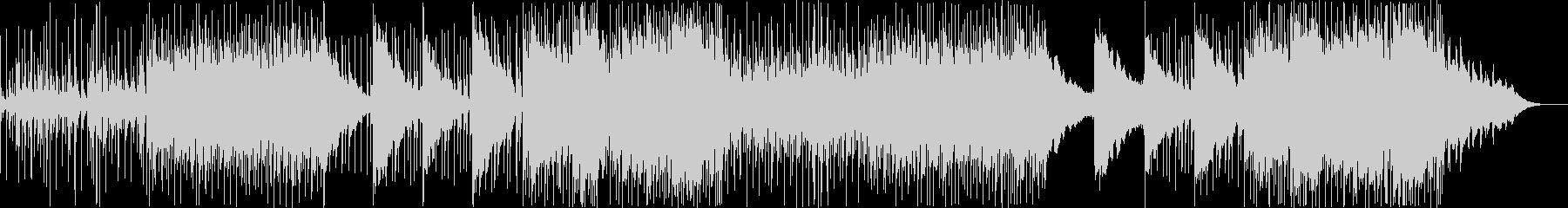 クールでミステリアスなEDM風の曲の未再生の波形